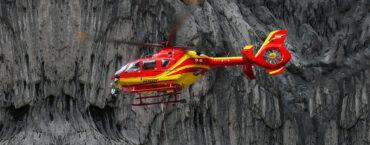 Hubschrauber beim Einsatz